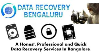 Data Recovery Bengaluru, Bangalore, India