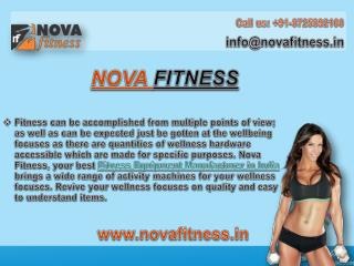 Nova Fitness- Best and Leading Fitness Equipment Manufacturer in India