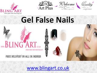 Excellent Gel False Nails Collection by Bling Art