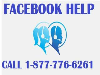 Achieve Facebook Help 1-877-776-6261 for your issues