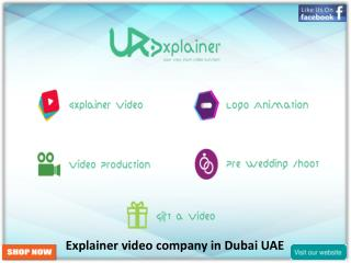 Explainer video company in Dubai