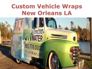 Custom Vehicle Wraps New Orleans LA