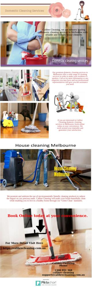 Book Domestic Cleaning Services Melbourne