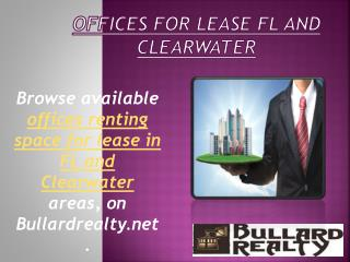 Lease Office Space St. Petersburg
