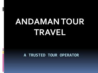 Amazing Offers on Andaman Tour Package | Andaman Tour Travel