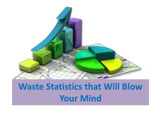 Mind Blowing Waste Statistics
