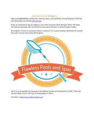 >Flawless Pools & Spas | Pool Maintenance in Keller, Arlington