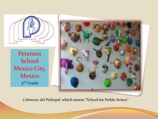 Peterson School Mexico City, Mexico 3 rd  Grade