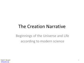 The Creation Narrative
