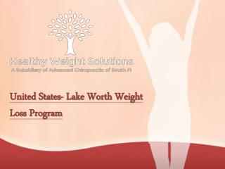 United States- Lake Worth Weight Loss Program