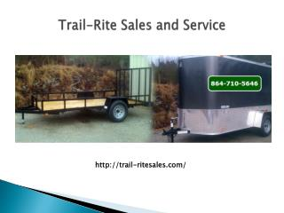 Trailers Walhalla SC, Equipment trailers Easley SC, Enclosed trailers Greenville SC