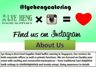 Housewarming Catering Singapore