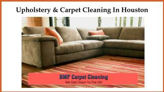 Upholstery & Carpet Cleaning In Houston