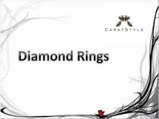 Buy Diamond Rings with Latest Designs - Papilior