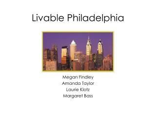 Livable Philadelphia