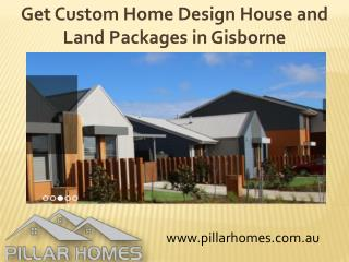 Custom Home Design House and Land Packages