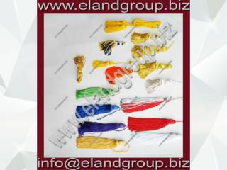 Bullion Wire And Thread Tassel Collection