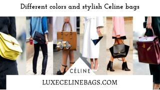 Different Colors And Stylish Celine Bags
