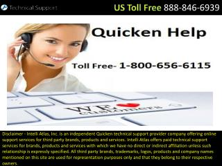 Different Versions of Quicken Installation– Get the Support