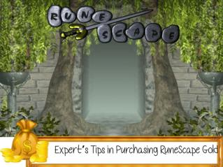 Expert's Tips in Purchasing RuneScape Gold