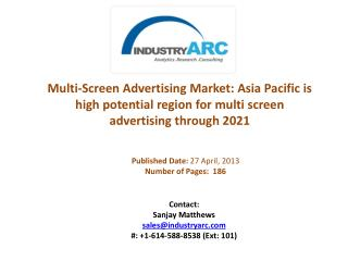 Multi-Screen Advertising Market Analysis | IndustryARC