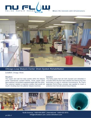 Chicago Loop Dialysis Center: Drain System Rehabilitation
