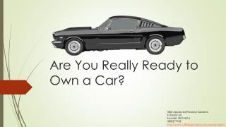 Are You Really Ready to Own a Car?