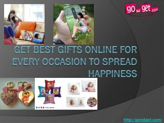 Get Best Gifts Online For Every Occasion To Spread Happiness