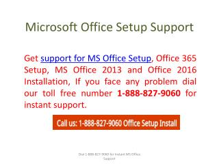 Microsoft Office Setup Support