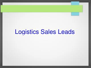 How Basic Sales Leads can Guide Complex Solution?