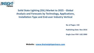 Solid State Lighting (SSL) Market Trends, Business Strategies and Opportunities 2025– The Insight Partners