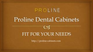 Proline Dental Cabinets