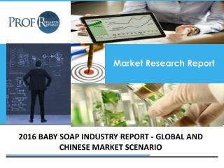 Baby Soap Industry, 2011-2021 Market Research