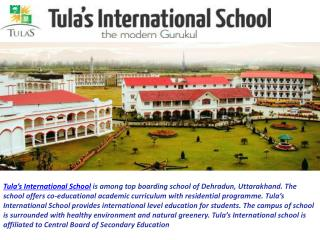 Top Boarding Schools in India