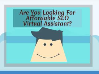 Affordable SEO Virtual Assistant