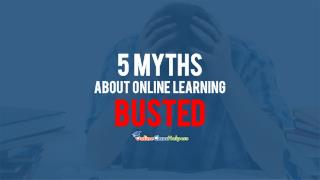 Take My Online Class: 5 Myths About Online Learning Busted