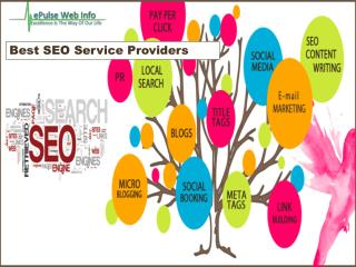 Best Seo Service Providers- Epulsewebinfo.com- Benefits of seo- Software companies in India