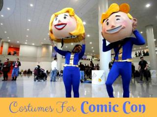 Costumes for Comic Con