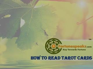 Learn How to Read Tarot Cards