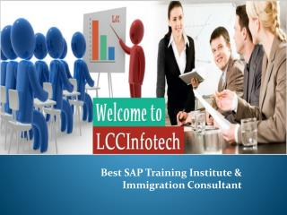 Lccinfotech - Best SAP Training Institute &Immigration Consultant