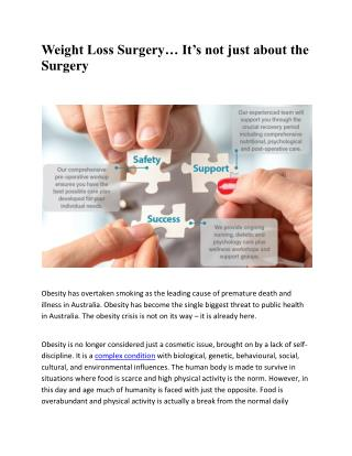 Weight Loss Surgery & BMI - The Surgical Weight Loss Centre