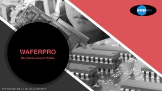 WaferPro - Best Semiconductor Wafers