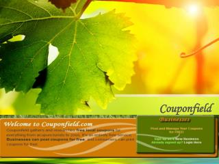 Couponfield - Free Local Coupons