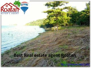 Best Real estate agent Roatan