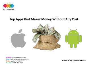 Top Apps that Makes Money Without Any Cost