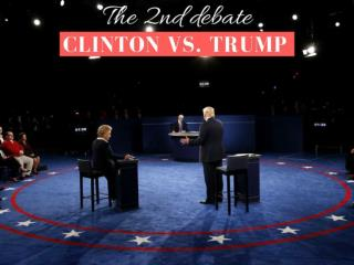 Clinton vs. Trump: The 2nd debate