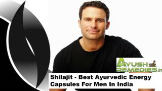 Shilajit - Best Ayurvedic Energy Capsules For Men In India