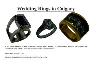 Wedding Rings in Calgary AB