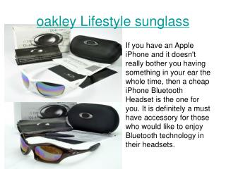 oakley Lifestyle sunglass