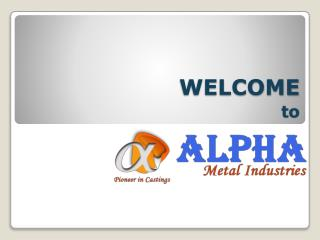 Classification of Die casting by alphametalind